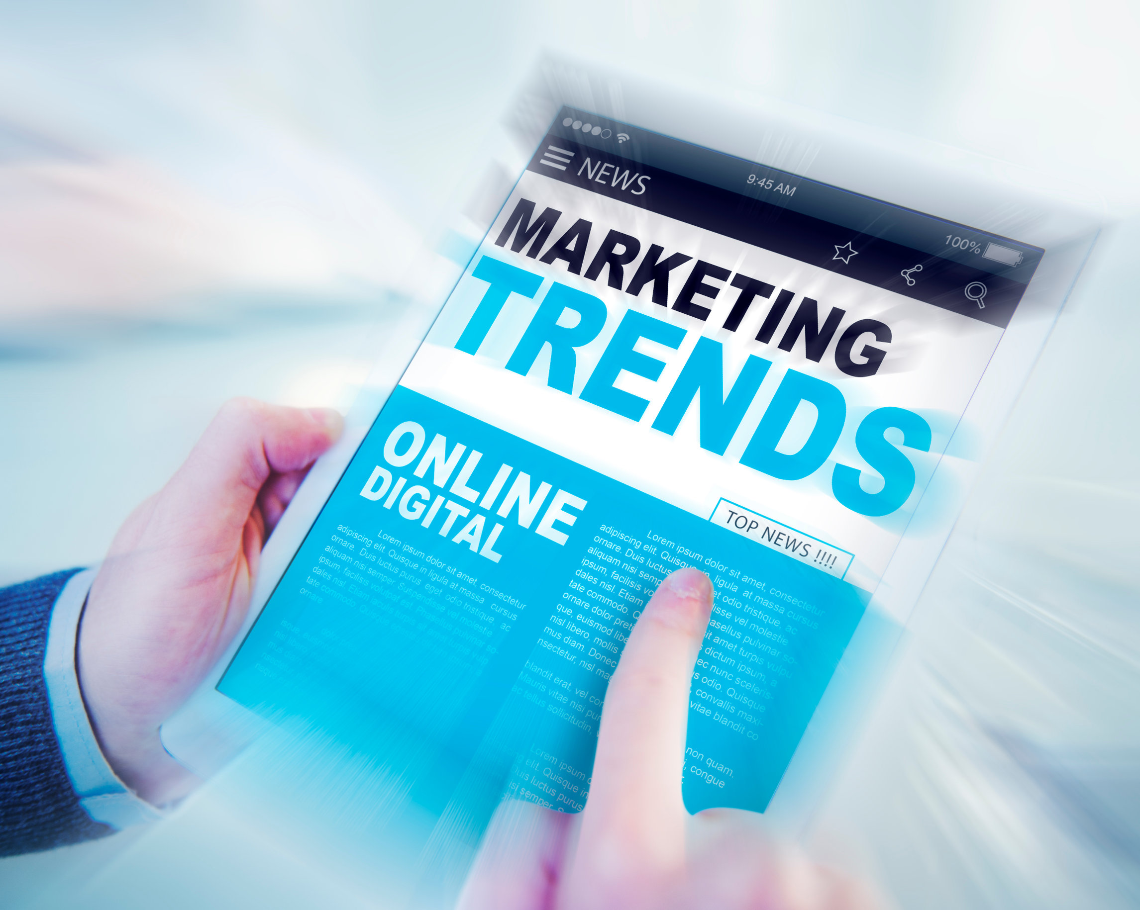 Top Marketing Trends - How to Successfully Navigate Digital Marketing